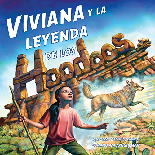 Viviana y la Leyenda de los Hoodoos [Viviana and the Legend of the Hoodoos] copertina