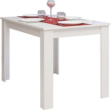 Table à Manger Blanc 110 x 70 x 73,4 cm, 2280A2121X00