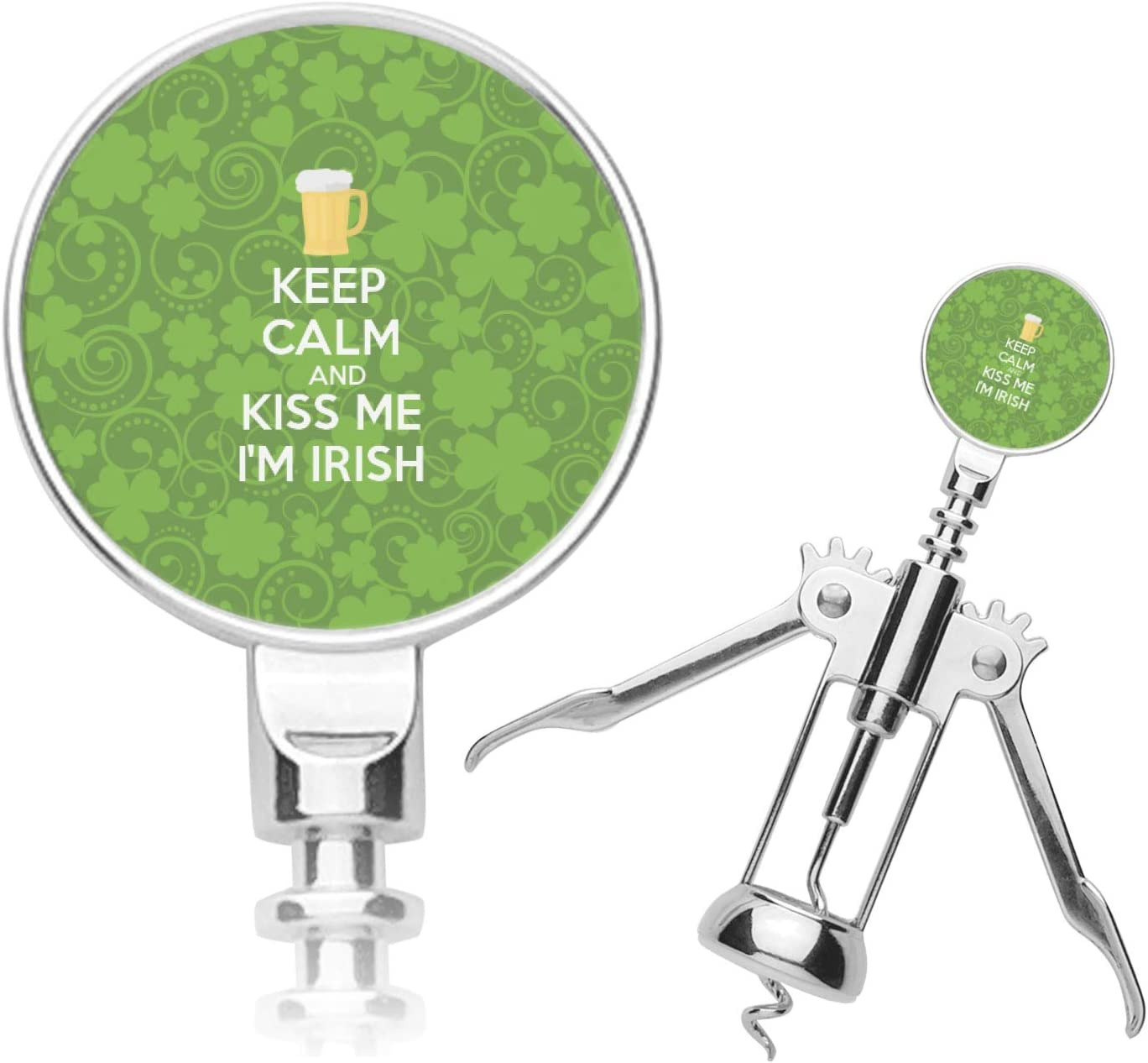 Kiss Me I'm Corkscrew Spasm price 70% OFF Outlet Irish Personalized