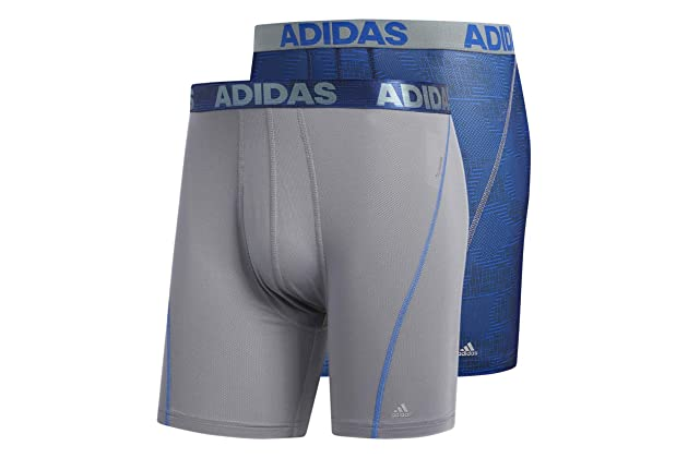 adidas Men s Sport Performance ClimaCool Boxer Underwear (2 or 4 pack) 157857f04d87
