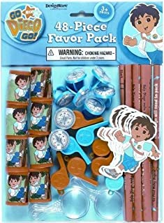 Go Diego, Go! 48pc Party Favor Pack [Toy] [Toy]