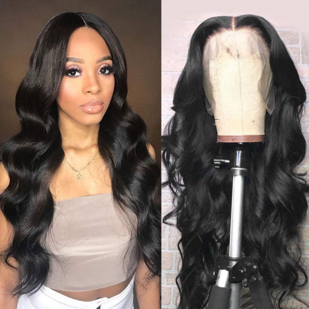 QLQUEENLIFE Human Hair 13x4 Free shipping Body Wave Wigs HD L Swiss Price reduction Lace Front