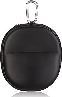 Headphone Case Bluetooth Headphones Case Wireless Headphones Case Headphone Carrying Case Travel Bag Storage Case Headset for Travel Over Ear case Full Size Extra Large Black EVA (Medium)