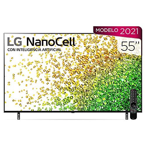 Pantalla LG 55' 4K Smart TV Nanocell 55NANO85SPA AI ThinQ (2021)
