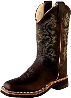 crepe sole square toe boots
