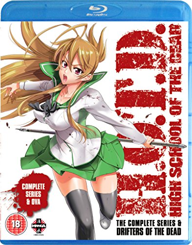 High School of the Dead: The Complete Series (Drifters of the Dead Edition) (Blu-ray + DVD)