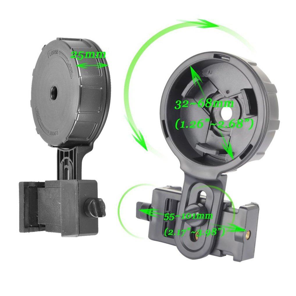 Gosky Telescope Adapter Aligned Digiscoping