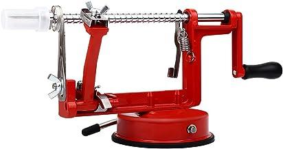 Home4You Apple Peeler Slicer & Corer, Classic Red coating