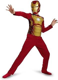 Disguise Boys Iron Man 3 Mark 42 Halloween Costume Small (6) 039897812