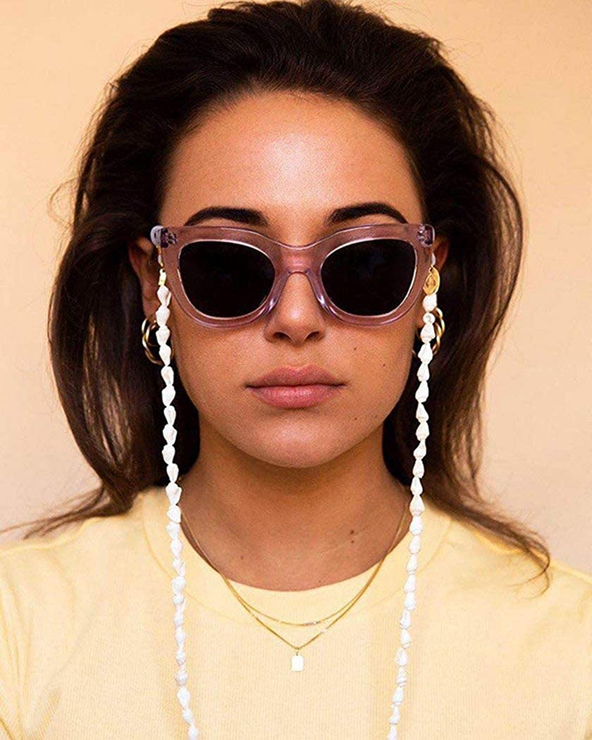 Ursumy Shell Glasses Necklace Boho Holder All items in the store Eyeglasses supreme Strap Beach
