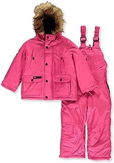 CANADA WEATHER GEAR Girls' 2-Piece Snowsuit