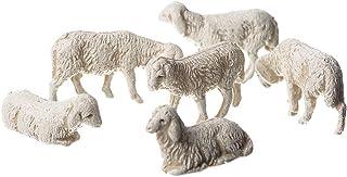 Moranduzzo 6 ovejas Variados en Bolsa, 3.5 cm,