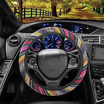 Best 13 14 inch steering wheel cover Reviews