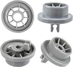 YOTINO 4Packs onderste mand vaatwasser wielen 165314 vaatwasser onderste rek wielklemmen voor Bosch