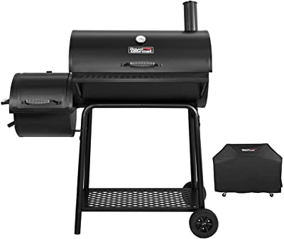 Royal Gourmet CC1830FC Charcoal Grill Offset Smoker (Grill + Cover)