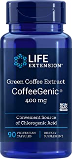 CoffeeGenic Green Coffee Extract 400 mg - 90 - VegCap