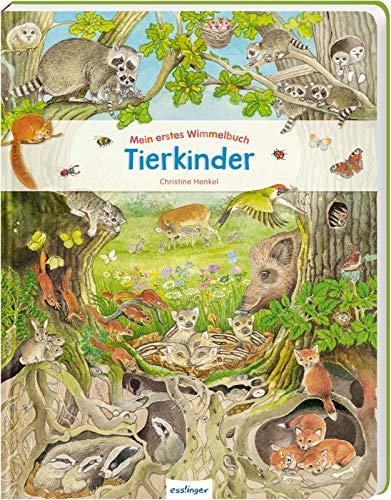 Tierkinder (Mein erstes Wimmelbuch)