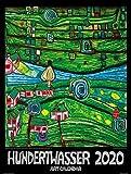 Großer Hundertwasser Art Calendar 2020: Der Klassiker - Wörner Verlag GmbH