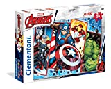 Clementoni- Maxi Puzzle 24 Piezas The Avengers, Multicolor (24495.9)