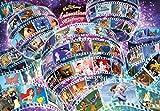 Tenyo Walt Disney Animation History Jigsaw Puzzle (1000 Piece)