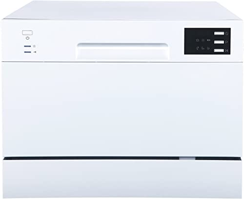 SPT SD-2225DW Compact Countertop Dishwasher/Delay Start-Energy Star Portable Dishwasher with Stainless Steel Interior...