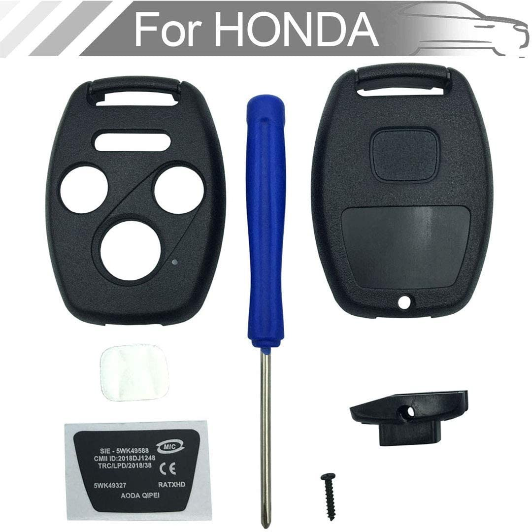 NEW 4 button Key Fob Shell Case 2021 spring and summer new Honda Pi Ex Accord for Civic Fit Fixed price sale
