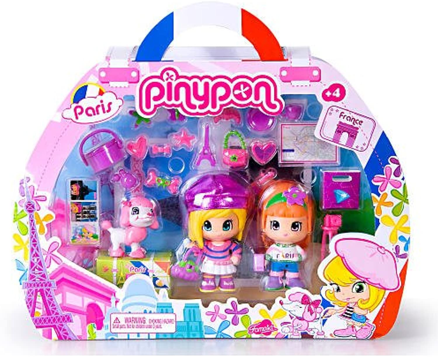 Pinypon Travelers Playset - Paris