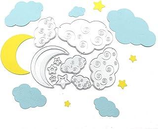 LEZED Plantillas de Estampado de Nubes Luna de Troqueles de Corte Troqueles De Corte De Metal Scrapbooking Forma de Nubes ...