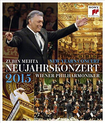 Concierto De Año Nuevo 2015: Zubin Mehta [Blu-ray]