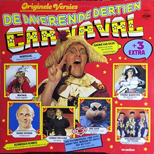 De Daverende - Dertien Carnaval - Original Versies - + 3 extra - NL - Vinyl