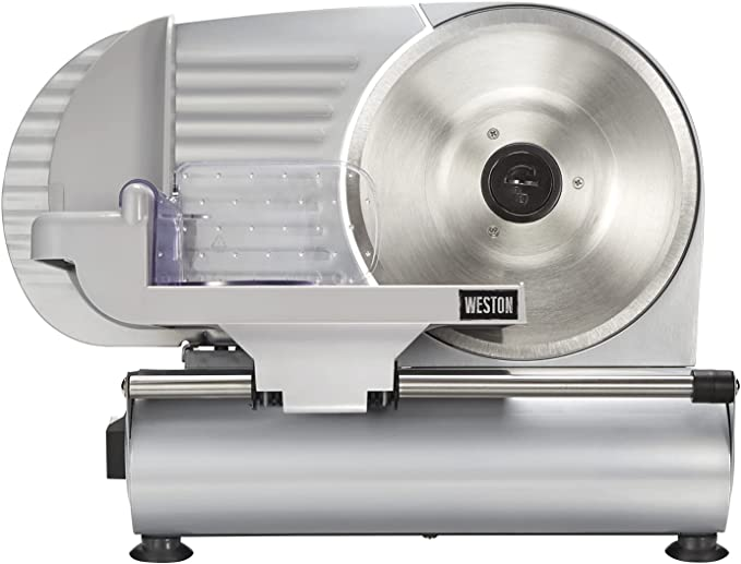Weston 61-0901-W Heavy Duty Meat and Food Slicer - Best for Thin Slices