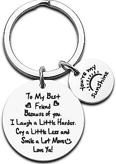 Gifts For Best Friend Keychain Friendship Gifts Sister Gifts For Best Friends Women Birthday Gifts For Girls BFF