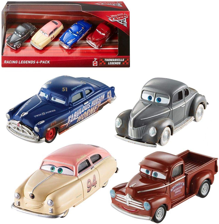 Disney Pixar Cars 3  Racing Legends 4 Pack