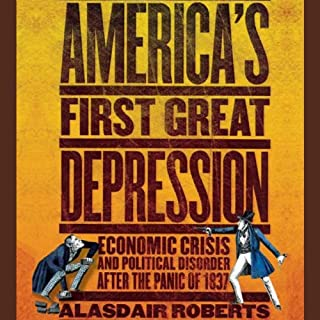 America's First Great Depression audiobook cover art