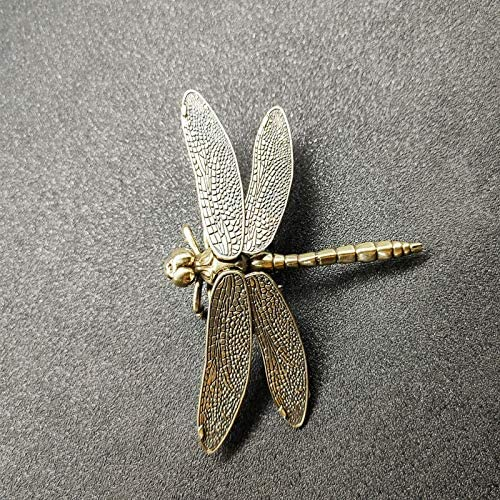 Miniature Copper Decor Brass Fees free Dragonfly Roo Figurines shipfree Living Home