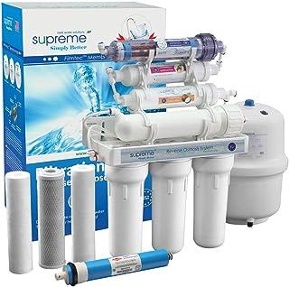 Système d'osmose inverse à 7 niveaux avec pompe booster, système d'eau potable Supreme-RO7, filtre à osmose inverse
