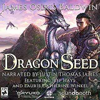 Dragon Seed     Archemi Online, Volume 1              By:                                                                                                                                 James Osiris Baldwin                               Narrated by:                                                                                                                                 Justin Thomas James,                                                                                        Jeff Hays,                                                                                        Laurie Catherine Winkel                      Length: 12 hrs and 38 mins     35 ratings     Overall 4.9