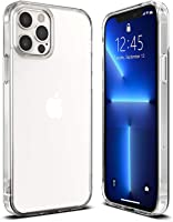 T Tersely Case Cover for iPhone 13 Pro 6.1-Inch, Slim Shockproof Bumper Cover Anti-Scratch Crystal Clear Case for iPhone...