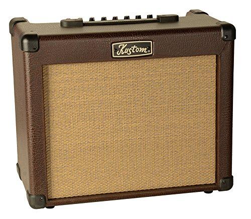 KUSTOM SIENNA35-Amplificador para guitarra acústica y preamplificador 35 W RMS