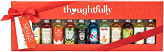 Thoughtfully Gifts, Global Cocktail Mixers Gift Set, Pack of 12 Individual Drink Mixers for Appletinis, Margaritas, Mai Tais, Mojitos, Moscow Mules, and More!