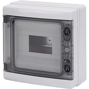 Gewiss GW40102 caja eléctrica - Caja para cuadro eléctrico (210 mm, 100 mm, 215 mm): Amazon.es: Bricolaje y herramientas
