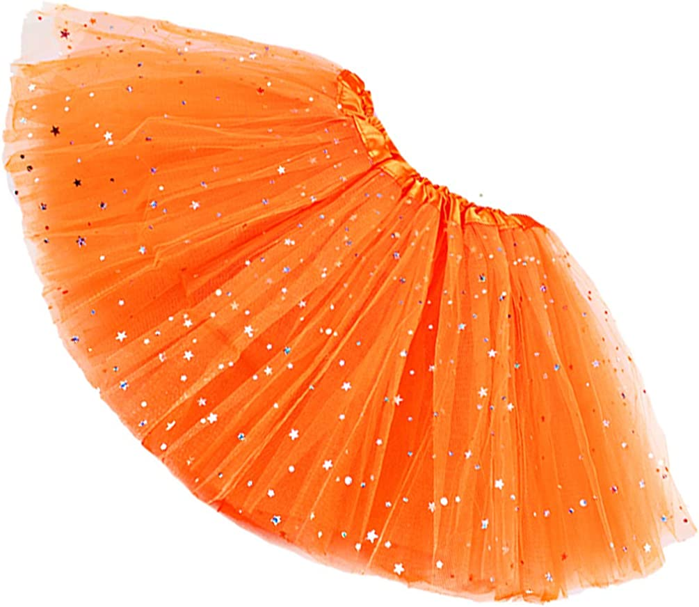 Womens Adult Sparkle Elastic 3 Layered cheap Skirt Tulle New Shipping Free Shipping Tutu