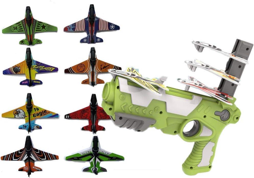 Save money 2021 New Hot Toy - Kansas City Mall Air plane Catapult Plane Bubble