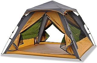 Tent تخييم خيمة 4 شخص مع 2 باب و 2mesh ويندوز للماء طبقة مزدوجة خيمة سريعة للمشي الأسرة Instant Tent