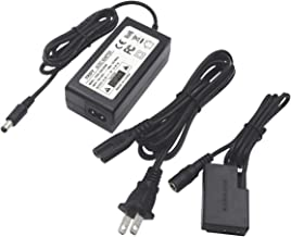 ACK-E18 AC Power Adapter Charger DR-E18 DC Coupler Kit TKDY (Replace LP-E17 Battery) for Canon EOS Rebel T6i T6s SL2 SL3 T7i 750D 760D 800D 77D 200D 250D Kiss X8i 8000D Cameras (Fully Decoded).