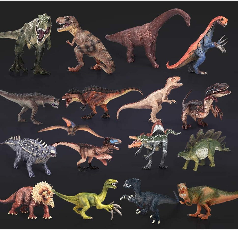 EEKUY 17 Groe Dinosaurier Spielzeug, Kunststoff Modell Kinder Lernspielzeug Family Collection Dekorationen
