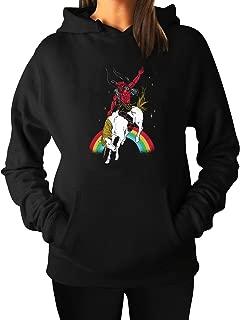 Woman's The Legend Of StuffPullover Hoodie Sweatshirts Black