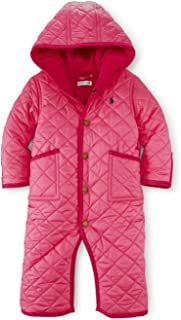 Polo Baby Girls Quilted Bunting