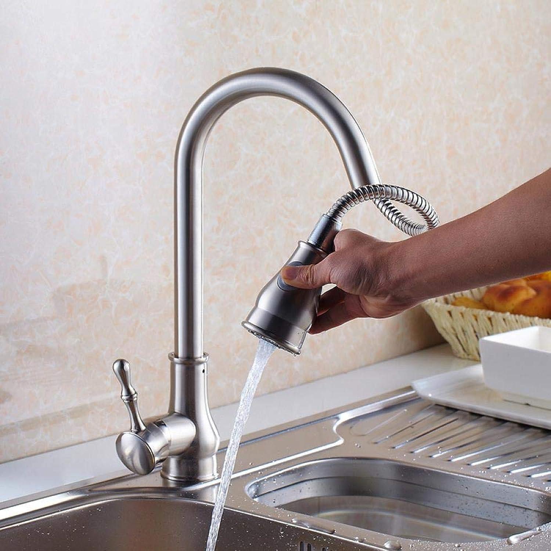 Küchenarmaturen Küchengriff Wasserhahn Vernickelt Gebürstet Heien Wasserhahn Waschbecken Wasserhahn Mit Dusche