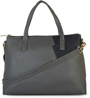 Baggit Autumn-Winter 2020 Faux Leather Women's Tote Handbag (Grey) (Renesme)